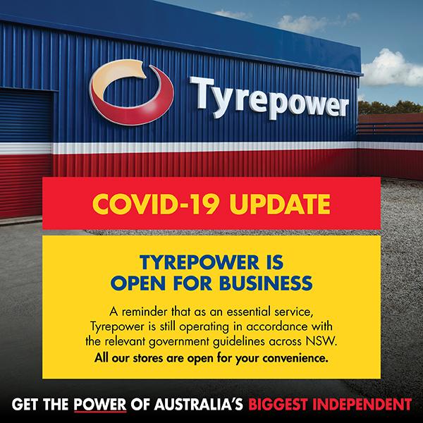 Tyrepower - Covid Update